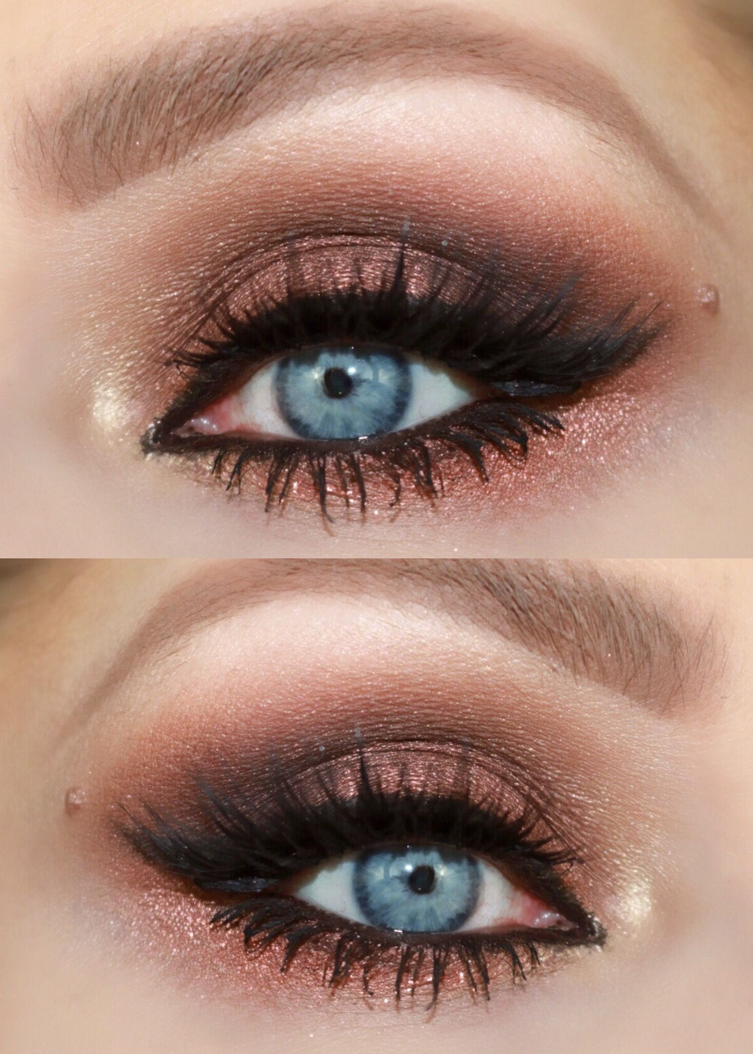 smokey eye look urban decay naked heat palette | naked heat palette
