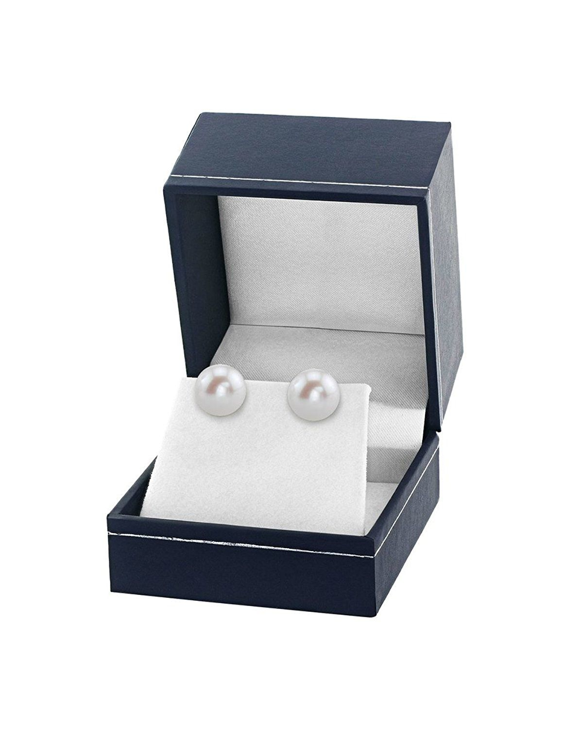 8b226366f 14K Gold 11-12mm White Freshwater Cultured Pearl Stud Earrings - AAAA  Quality >>> Read more reviews of the product by visiting the link on the  image.