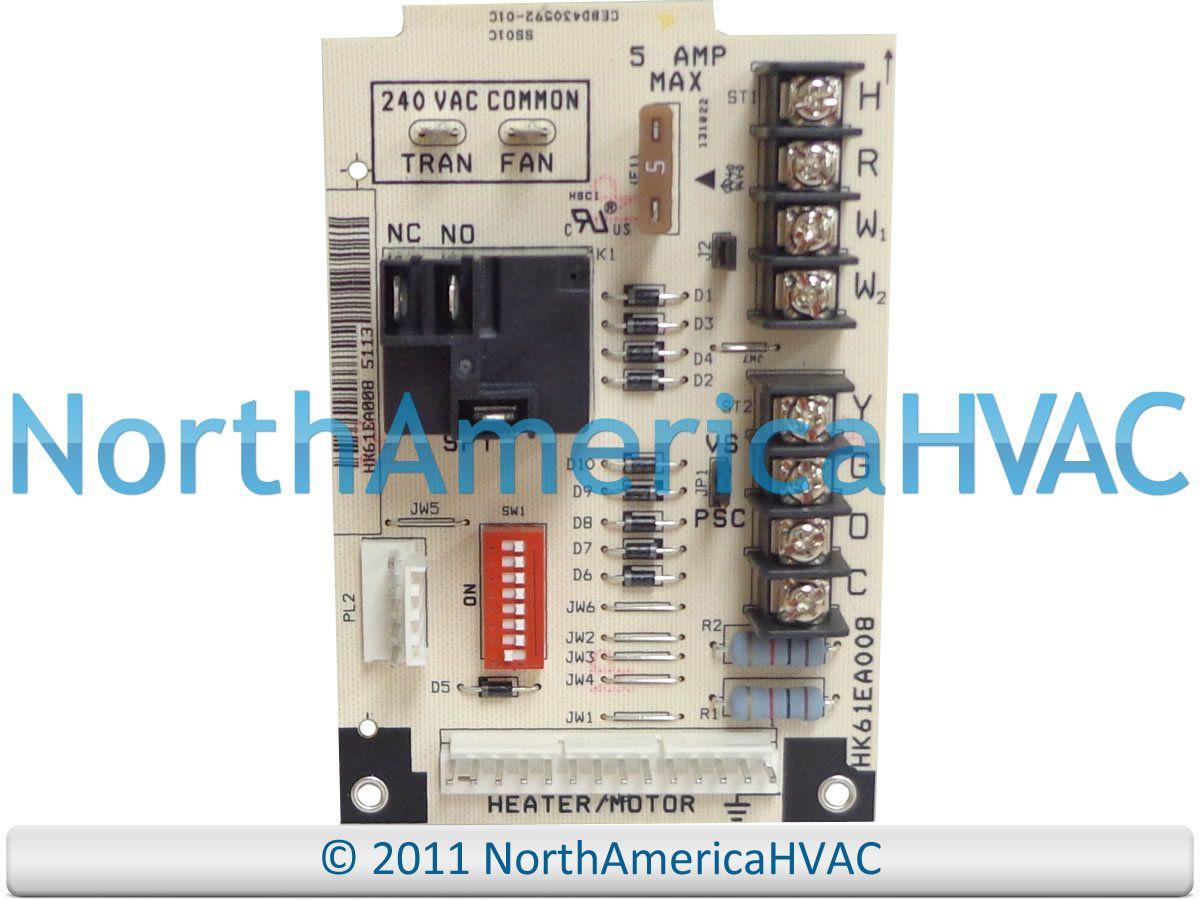 1172478 Oem Icp Heil Tempstar Comfortmaker Furnace Fan Control Circuit Board Circuit Board Circuit Control