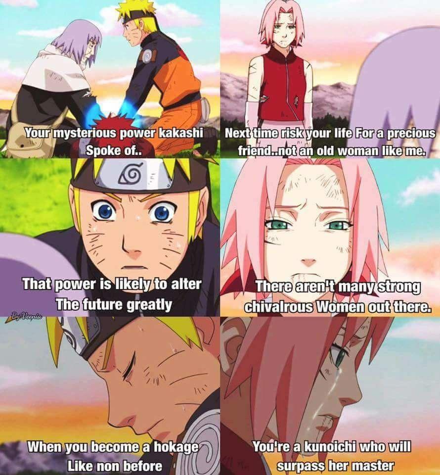 Chiyo Granny Was Right Naruto S Power Saved The World And Sakura Surpassed Tsunade Naruto Shippuden Anime Naruto Sasuke Sakura Naruto Comic