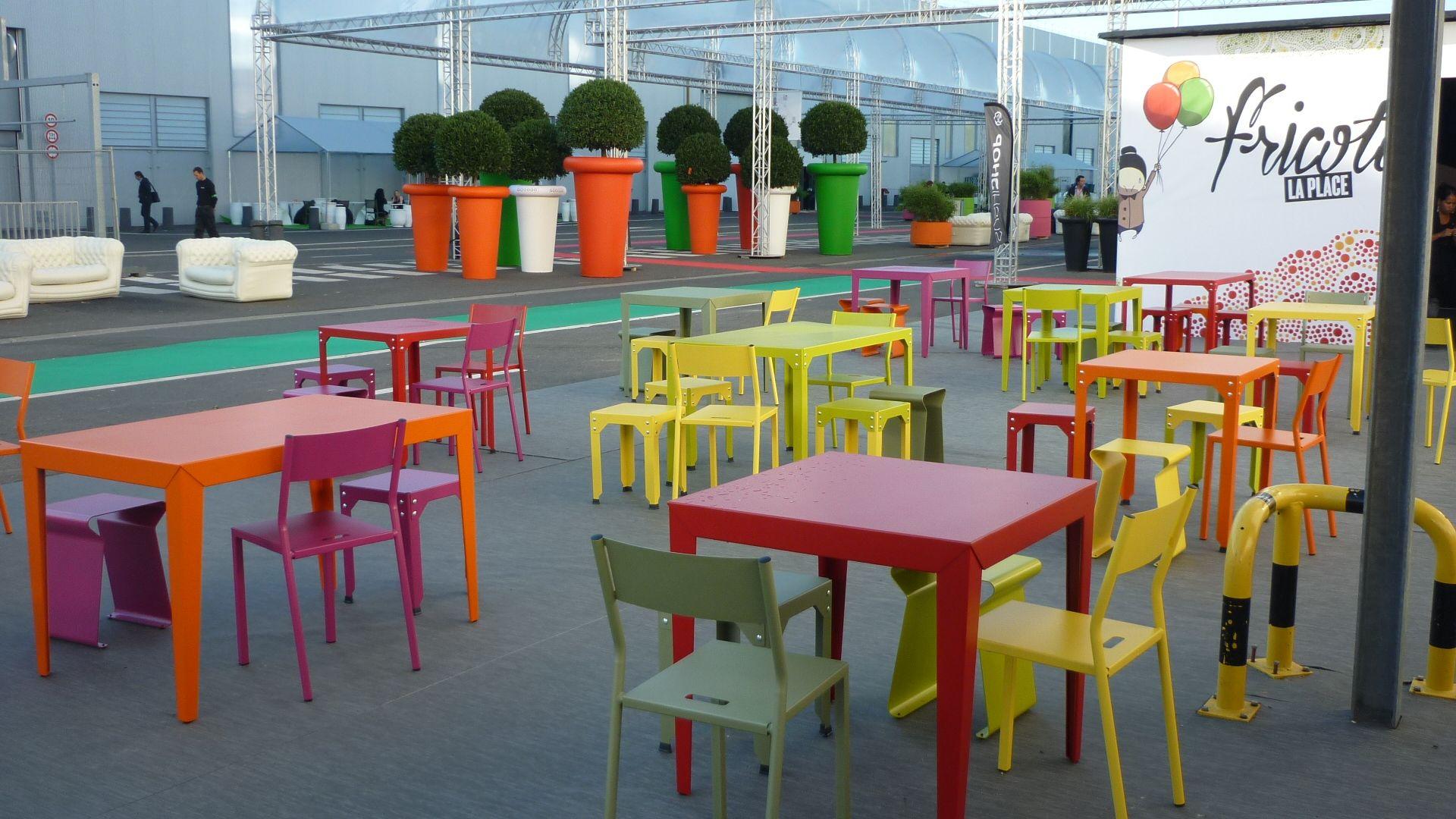 Espace Fricote - Tables & Tabourets HEGOA Chaises TAKE ...