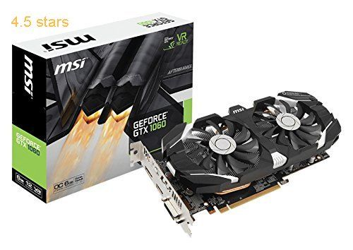 Msi Nvidia Geforce Gtx 1060 6gb 0cv1 Gddr5 Pci Express Dp Dvi Hdmi Graphics Card Black Graphic Card Msi Nvidia