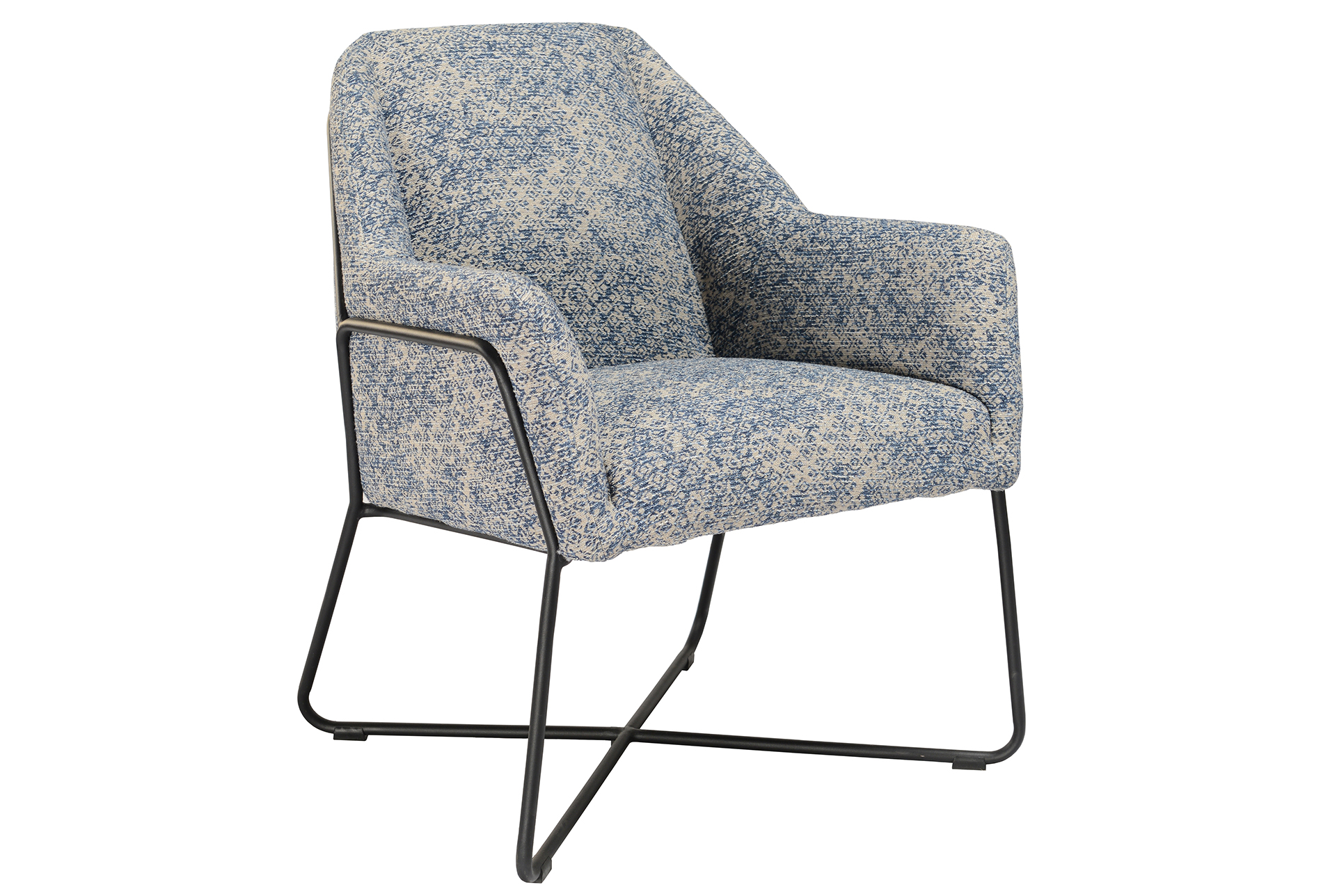 Best Winter Blue Print Accent Chair 450 Printed Accent 400 x 300