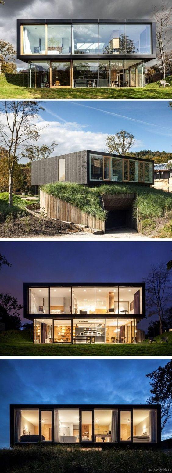 Modern container house design ideas also houses rh pinterest