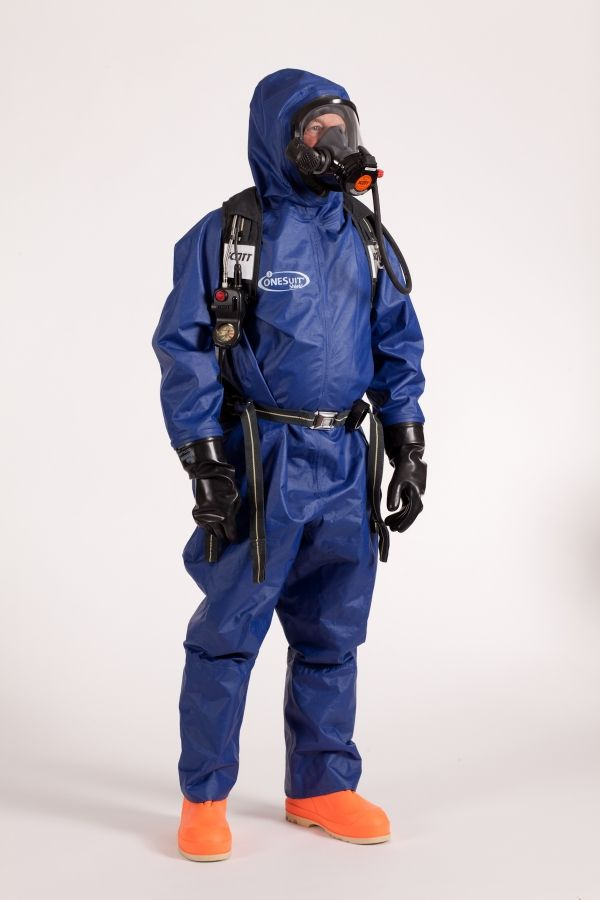 Complete Protection From Chemicals And Gases Hazmat Suit Space Suit Protection