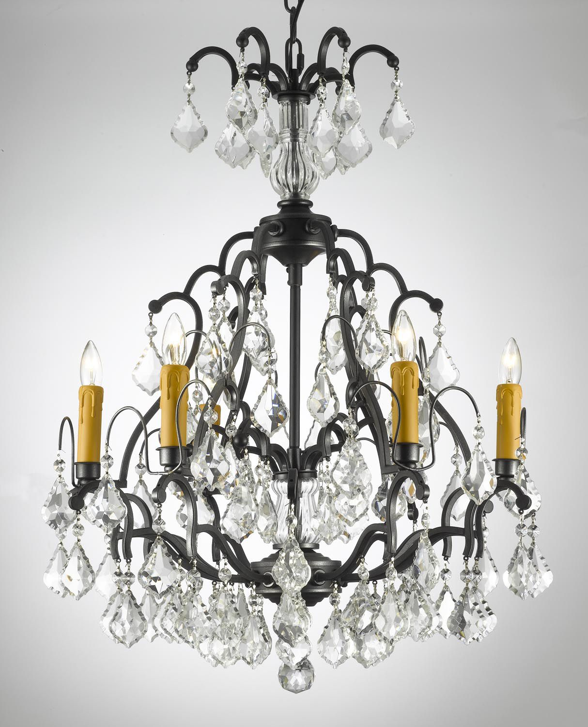 G7 443 6 Wrought Iron Versailles Wrought Iron Chandelier Iron Chandeliers Wrought Iron Chandeliers Crystal Chandelier Lighting