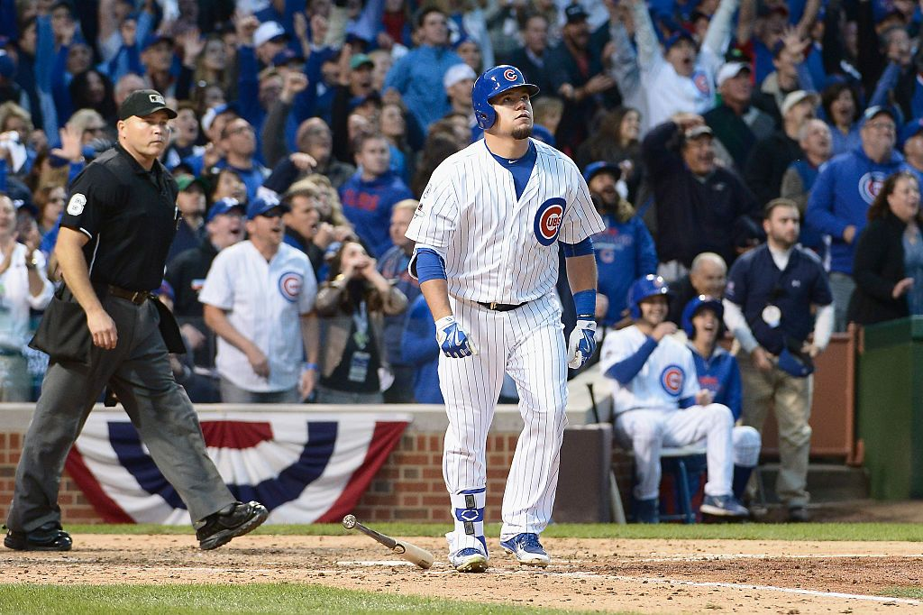 Kyle Schwarber Is Officially On His Way To The World
