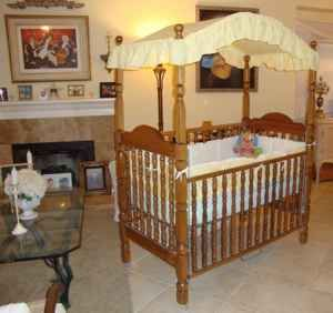 1980s Bassett Canopy Crib I Bought This Crib In A Dark