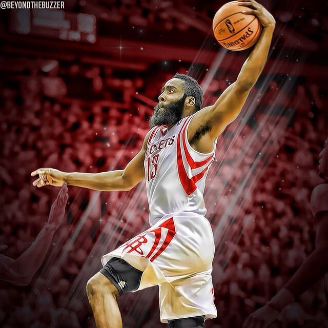 Knight Basketball Player Wallpaper: James Harden , Houston Rockets