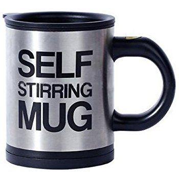 Amazon Com Thegizmomart Self Stirring Coffee Or Tea Mug Cup Kitchen Dining Buy On Amazon Now Through Link In Pin Mugs Tea Mugs Coffee Mugs