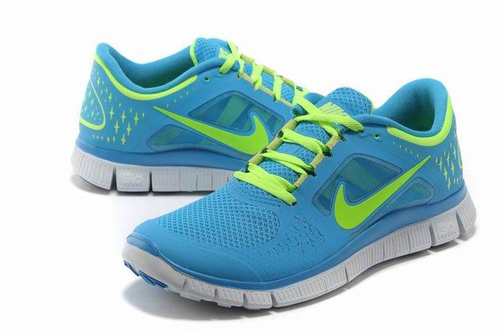 mujer sensación cómoda colores y llamativos Fantástico Nike Free Run+ Azul Rebajas 3.0 Zapatillas, | Nike ...