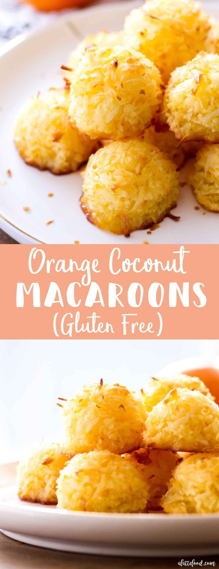 These Homemade Orange Coconut Macaroons Are Sweet Simple And