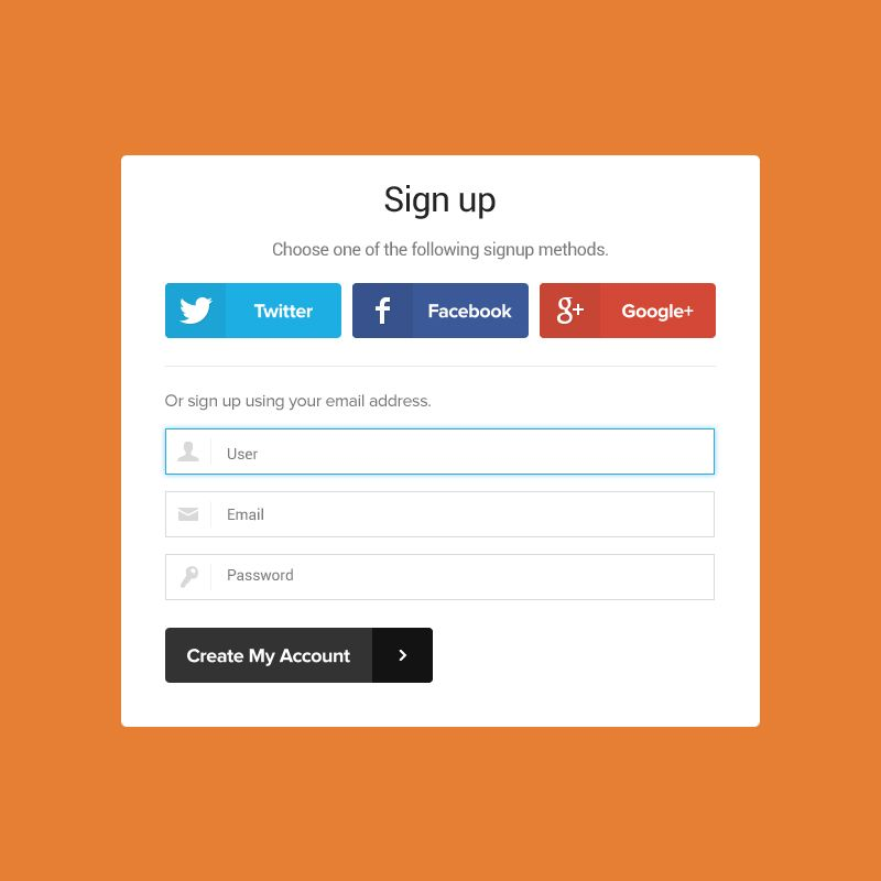 Signup Form Mockup Template Design Free Psd Box Contact Creative Design Email Flat Form Formmockup Form Template Design Mockup Template Free Design