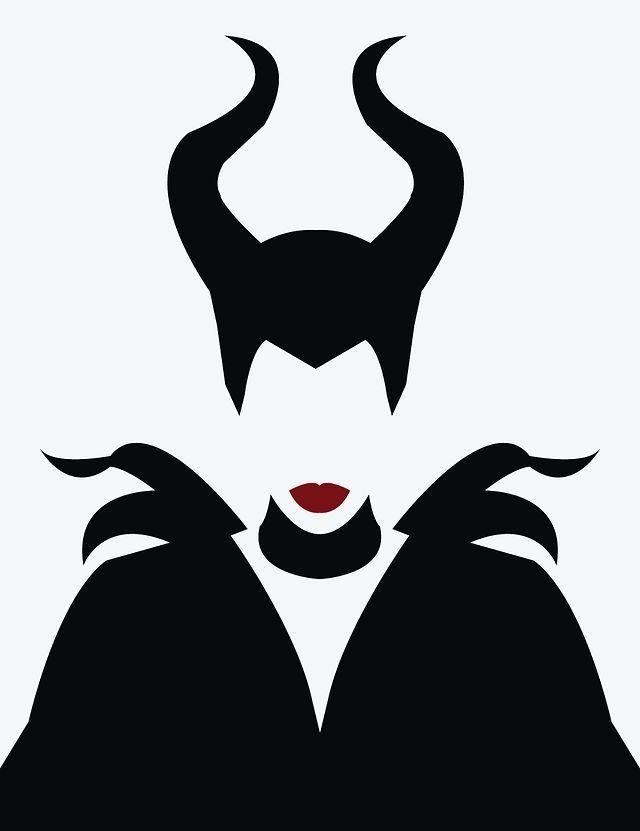Maleficent. #illustration #vector …   Pinteres…