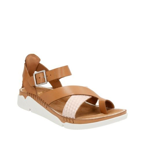 0413b969346b2 Tri Ariana Tan Combi - Clarks® Sandals for Women - Clarks® Shoes ...