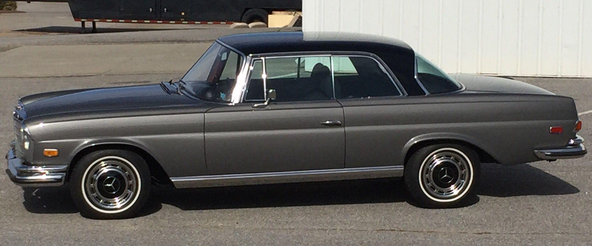 1970 mercedes benz 280se 3 5 anthracite metallic with for 1970 mercedes benz 280se