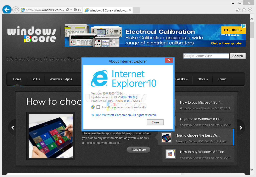 Internet Explorer 10 Preview for Windows 7 users is now ...