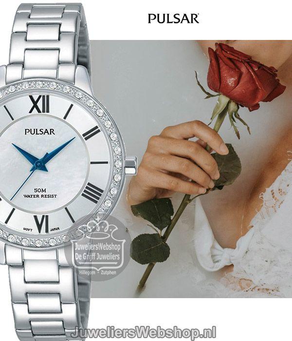 6485e28b511 Het Pulsar PH8399X1 dameshorloge is een horloge met een klassieke look. Het Pulsar  horloge heeft