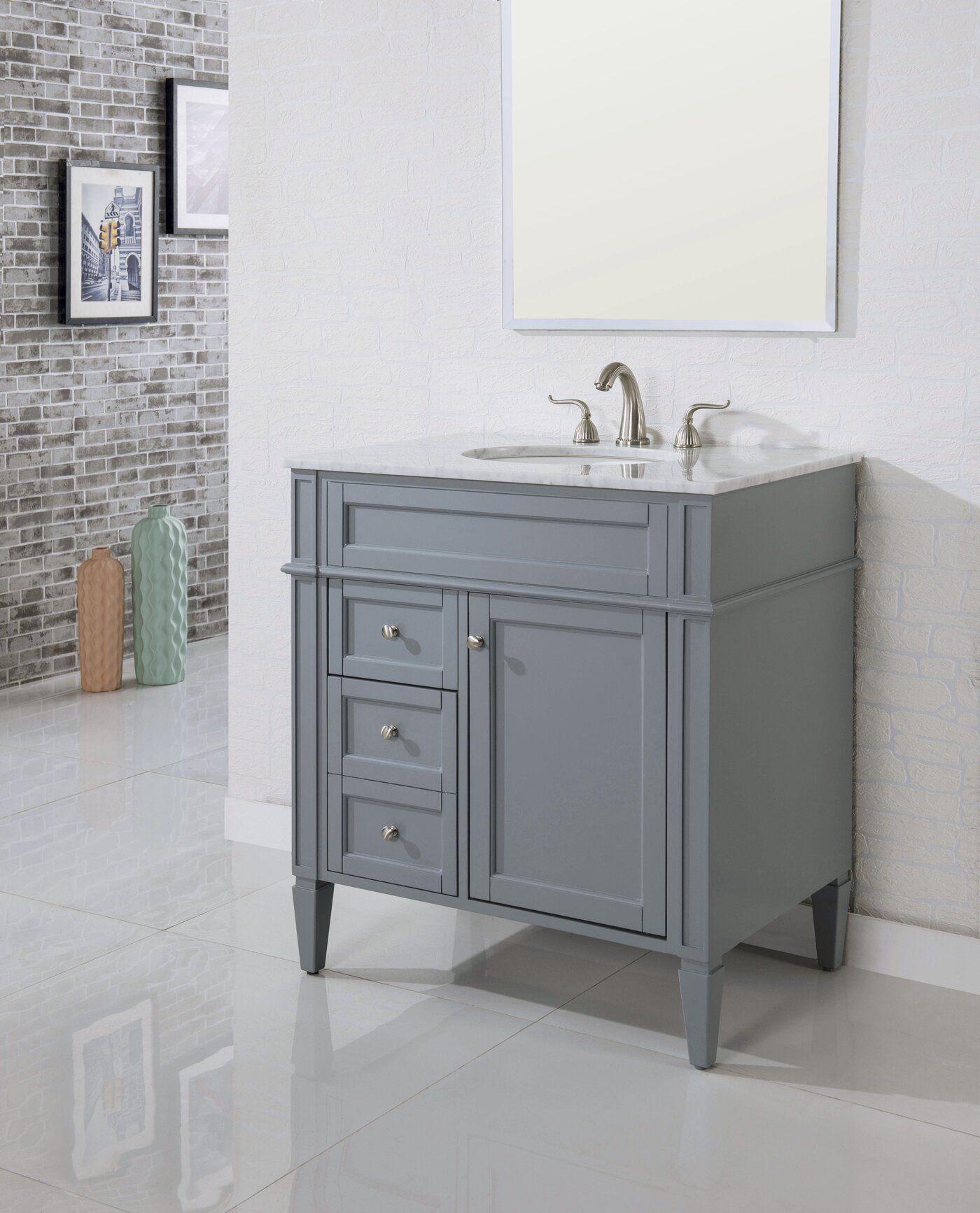 Birch Lane Heritage Antionette 32 Single Bathroom Vanity Set Reviews Wayfair Single Bathroom Vanity Bathroom Vanity Vanity [ 1734 x 1400 Pixel ]