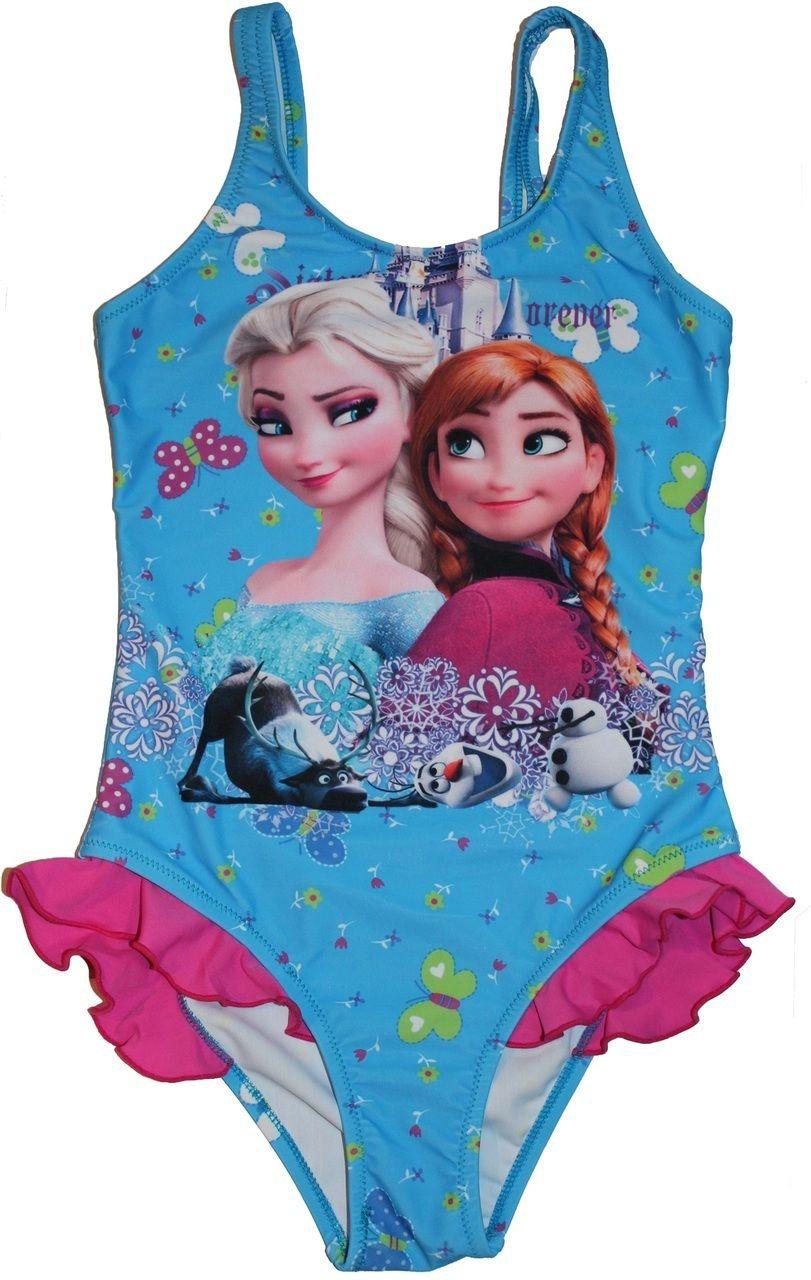 fb8d6cbe09af5 Ella Blu Store - Frozen Elsa Anna Olaf Swimsuit Princess Swimwear
