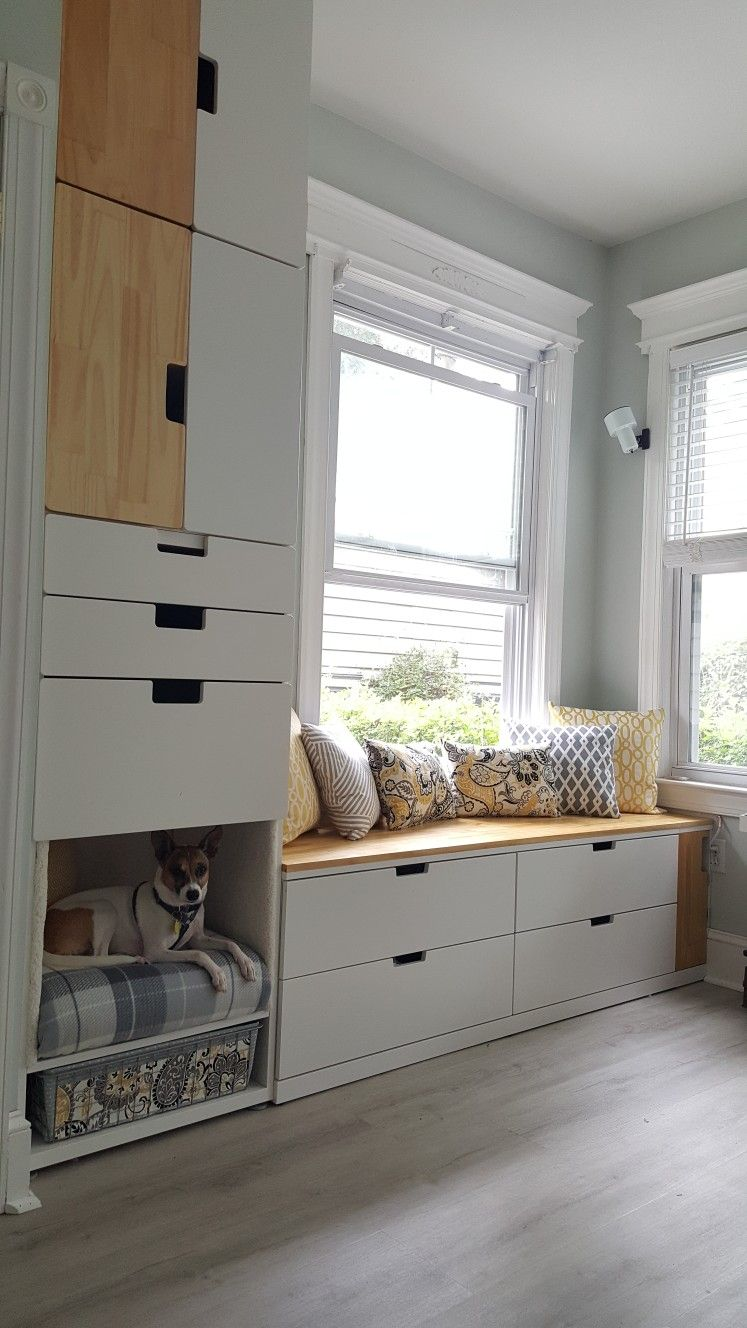 Ikea Nordli & Stuva Storage DIY in 2019 Babyzimmer