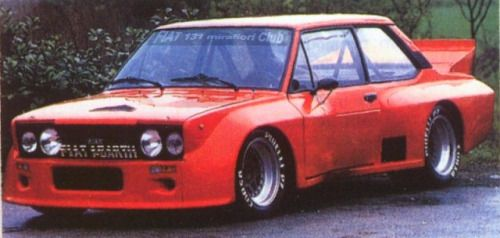 Collaverglas Fiat 131 Abarth 035 Volumetrico Competizione
