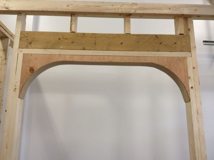 How to build an arched doorway or entryway | Home Projects ...