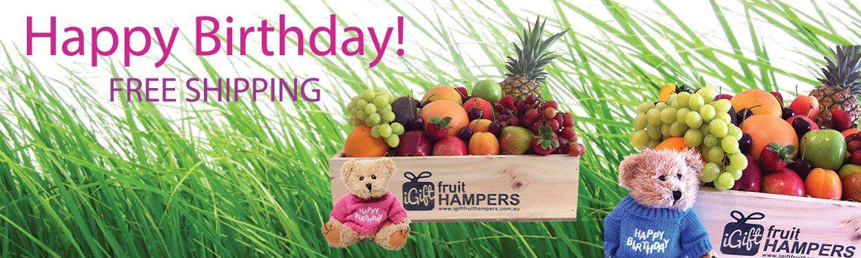 Fruit Baskets & Fruit Hampers Delivered Across Australia