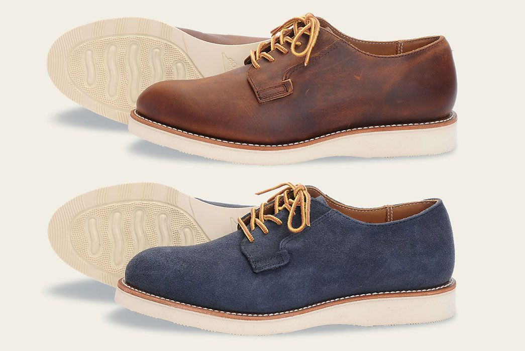 Red Wing Heritage Postman Oxford Shoe