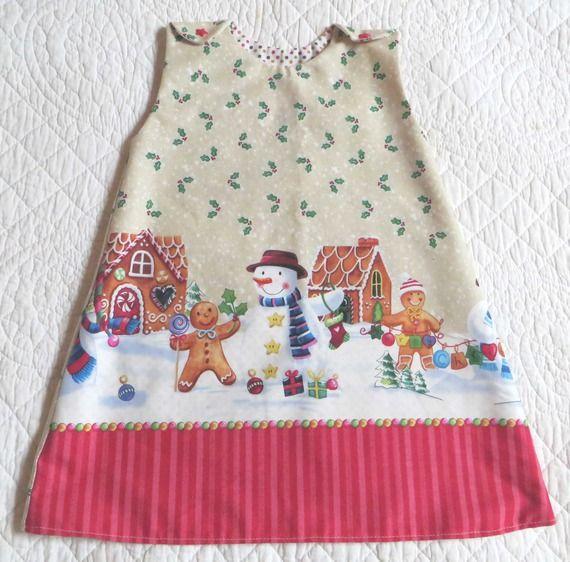 dfe3f5fe2b9f3 robe tunique de Noël bébé fille