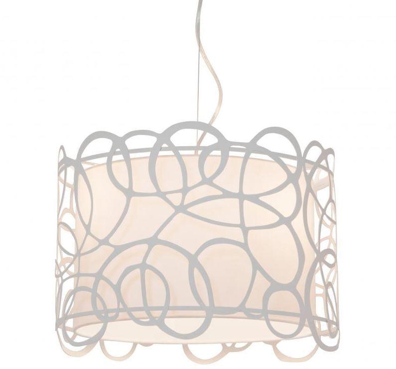 Lampara Colgante de Techo Cilindro Troquel Miro 40cm casa - lamparas de techo modernas