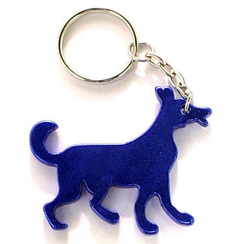 Custom Dog Shape Bottle Opener Keychains | Customized Metal