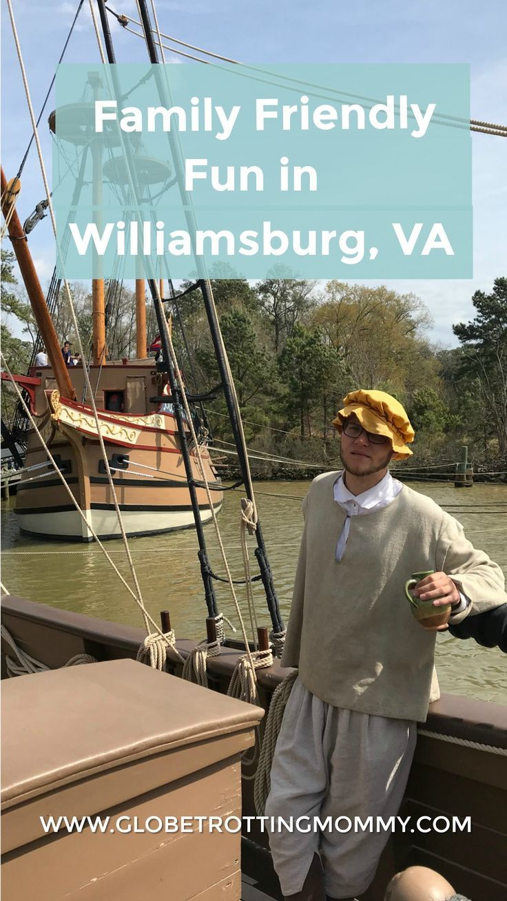 Family Friendly Things to do in Williamsburg, VA - Part Two ...
