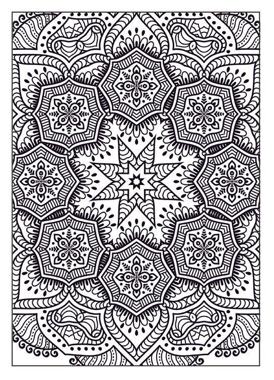 - Bendon; Coloring Mandalas For Adults, Coloring Cats & Dogs For Adults &  Many Others @ Dollar Gene… Abstract Coloring Pages, Coloring Books,  Mandala Coloring Books