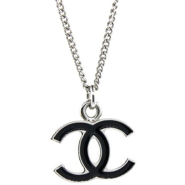 Pre Owned Chanel Black Enamel Cc Necklace 400 Liked On Polyvore Featuring Jewelry Necklaces Chanel Jewelry Chanel Jewellery Enamel Jewelry Chan Joyeria