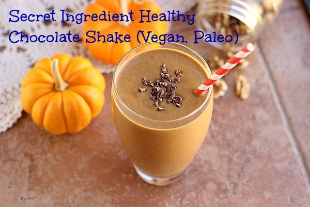 Healthy, Allergy-Friendly, Low Sugar Recipes - Oatmeal with a Fork #healthychocolateshakes