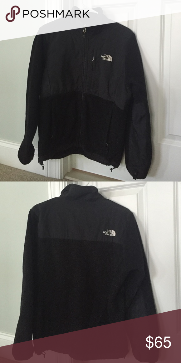 Black North Face fleece jacket Denali Great condition North Face Jackets & Coats
