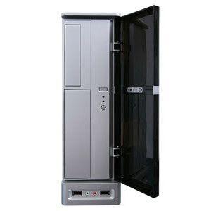 APEX DM-387 275W Slim MicroATX Case (Black