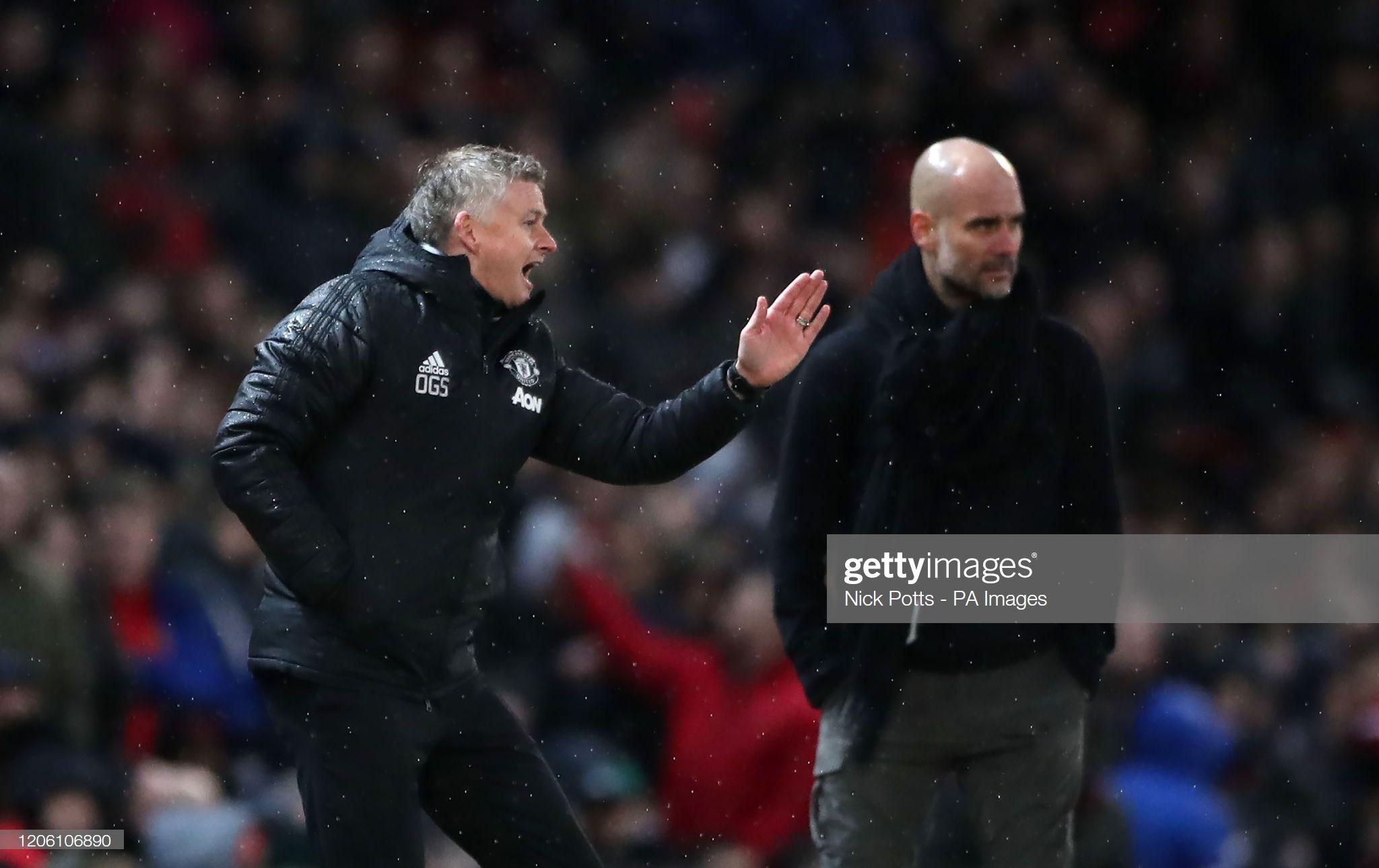 Manchester United Manager Ole Gunnar Solskjaer And Manchester City In 2020 Manchester United Ole Gunnar Solskjaer Manchester City