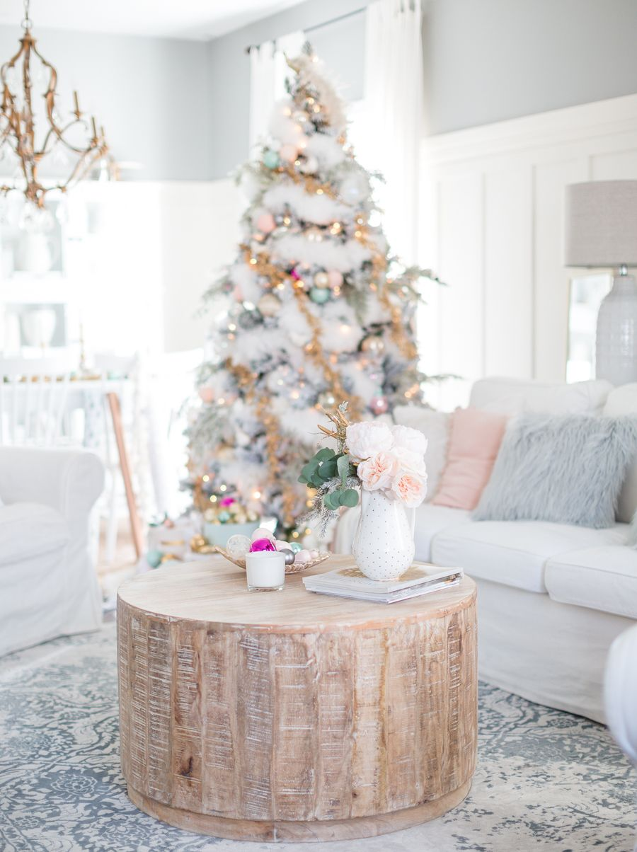 pastel christmas decor - Pastel Christmas Decorations