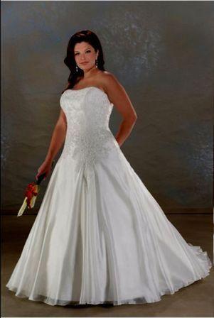 strapless corset wedding gown | 25th wedding anniversary renewal