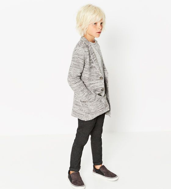 Image 1 of Knit blazer from Zara