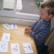 """Children can learn some beginning sight words.  """"The first beginning sight words are important to the child."""""""