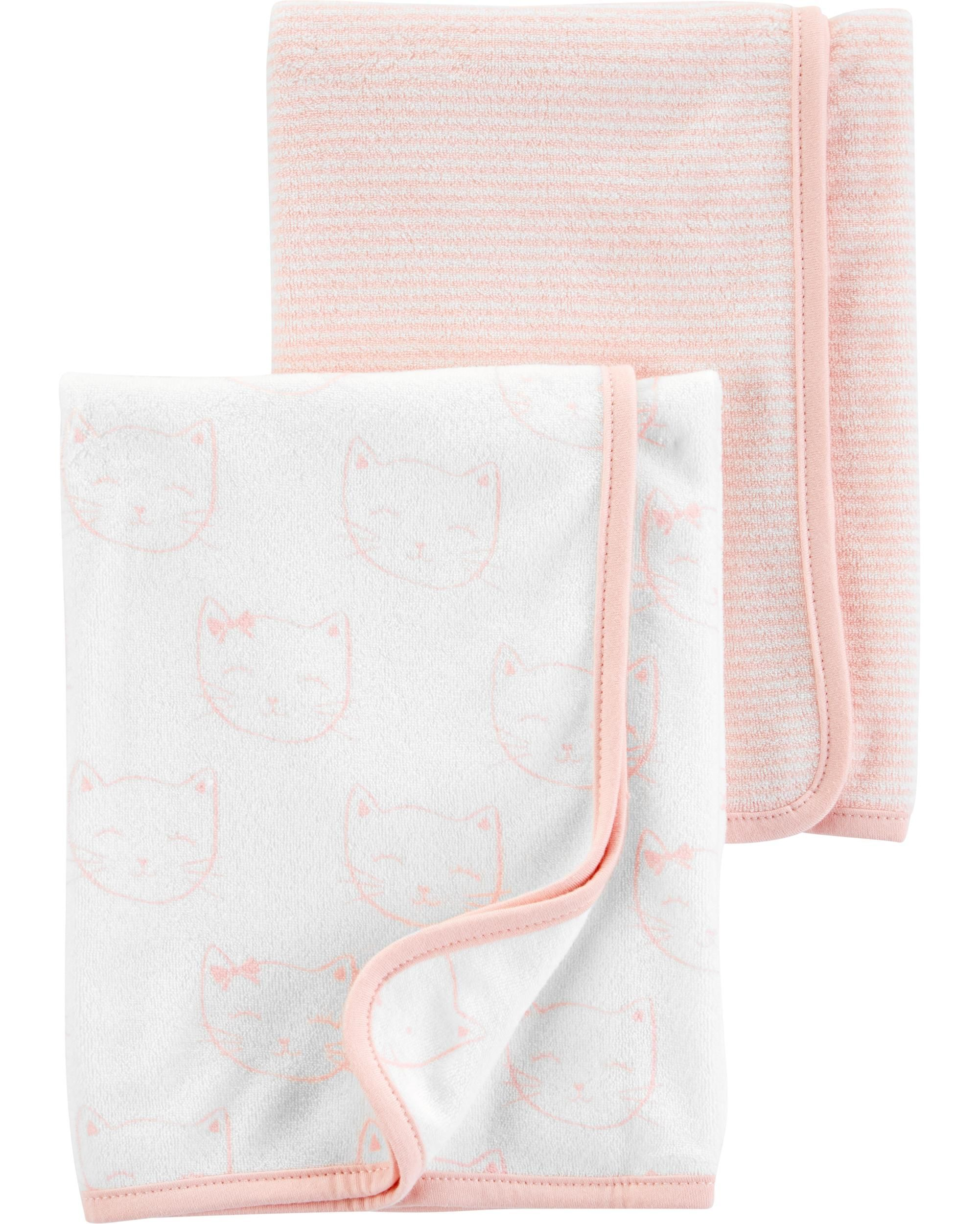 GERBER BABY GIRL/'S 4-Pack Flannel Receiving Blankets NWT Butterflies