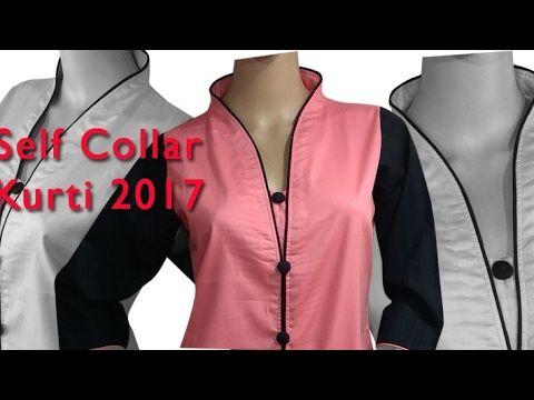 e134aa85357e New Self collar kurti 2017 Diy Tutorial explained (Part1) - YouTube ...