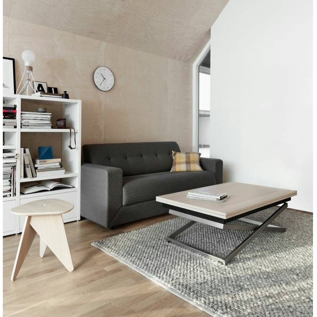 Stockholm Sofa With Fold Rubi Table Scandinavian Interior