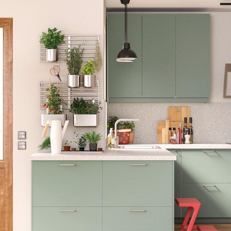 A green and environmentally conscious kitchen