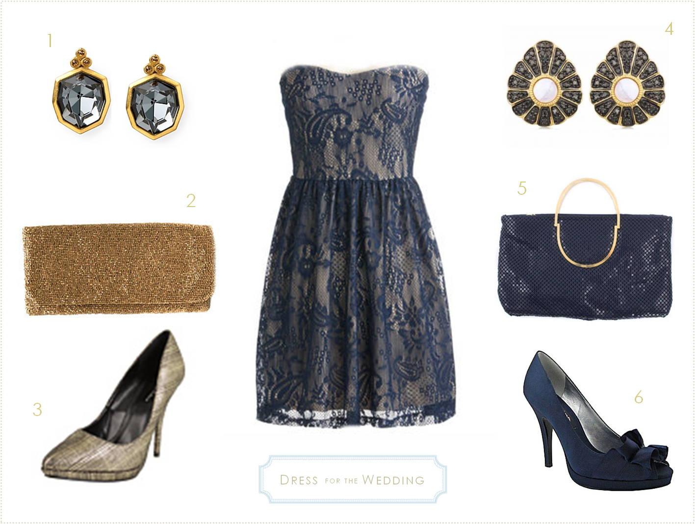 Blue Lace Cocktail Dress for a Wedding | Lace cocktail dresses ...