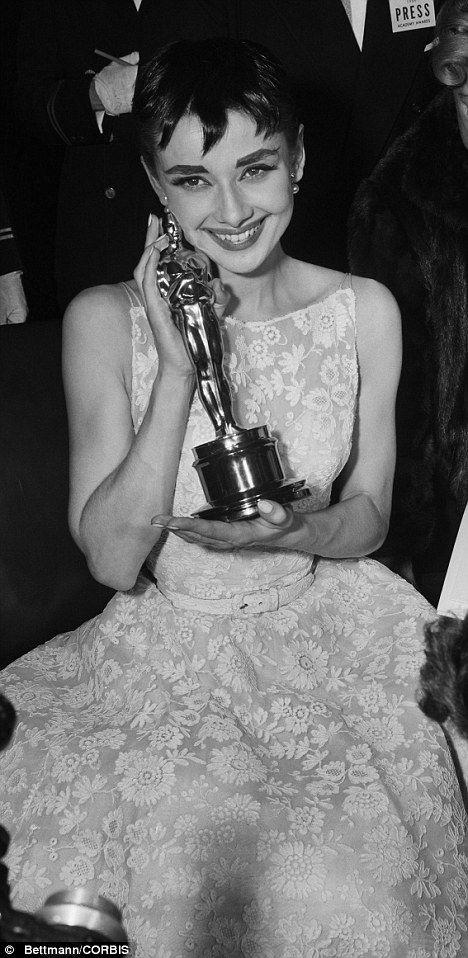 Audrey Hepburn's 'lucky' Roman Holiday Oscar's dress set to