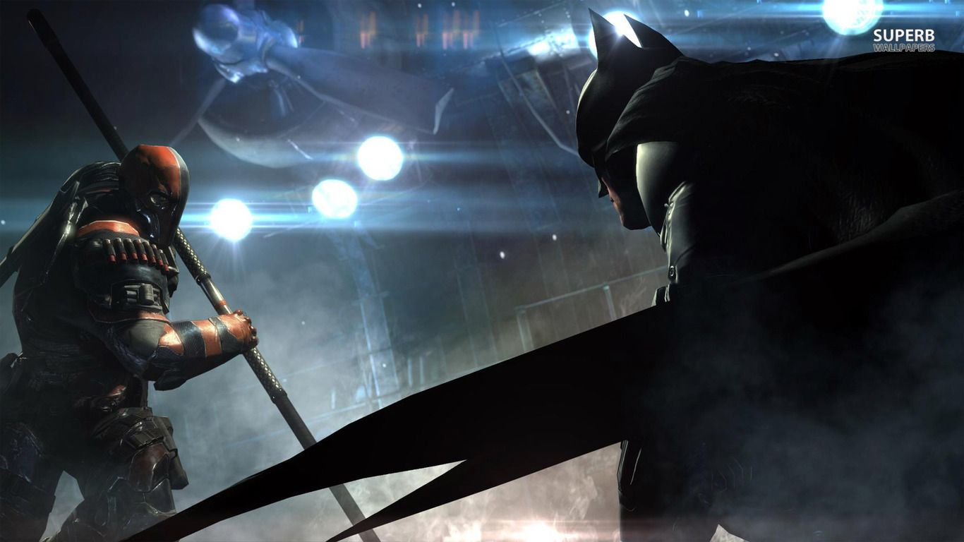 Batman Arkham Origins Deathstroke Vs HD Wallpapers